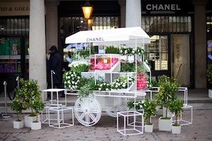 CHANEL Flower cart landscape copy