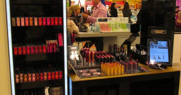 Lipstick Queen stand at Selfridges