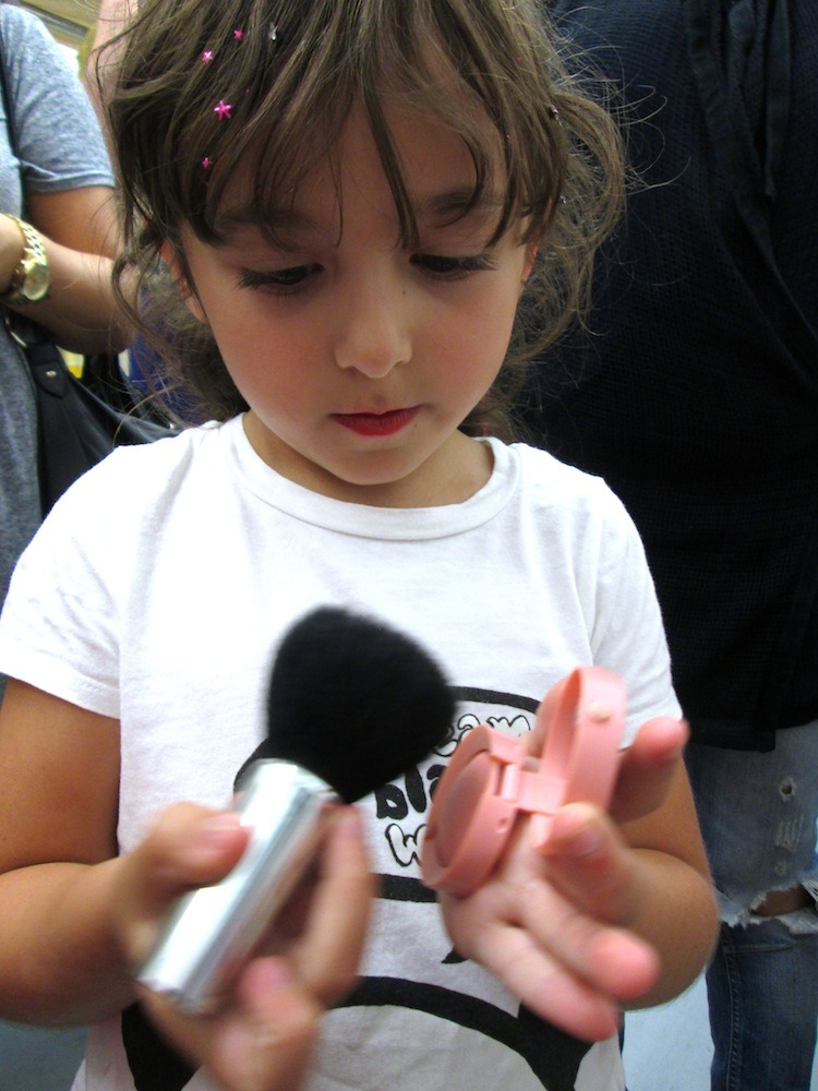 the Youngest MUA applies Bourjois at BeautyMART Boxpark