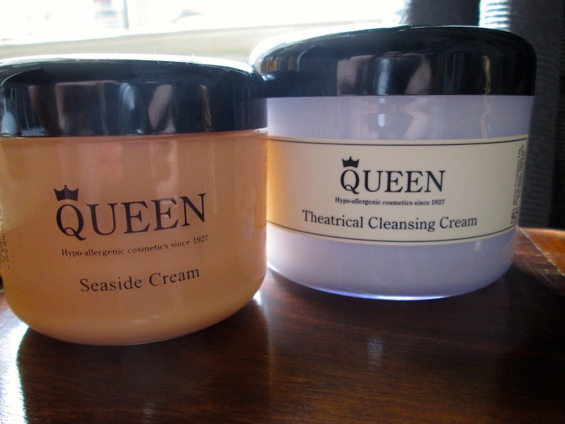 Queen Cosmetics Suntan Cream and Theatrical Cleansing Cream