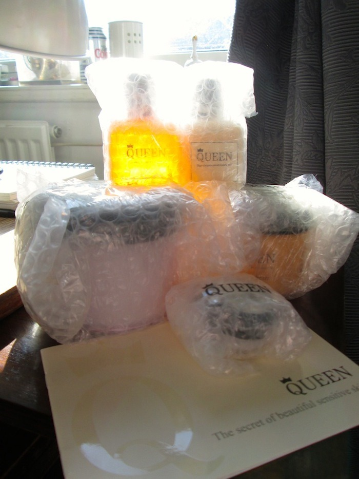 Queen products through the post