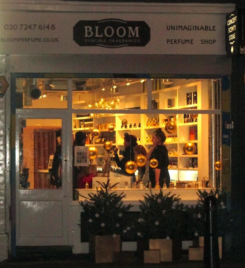Bloom Perfumery Spitalfields exterior
