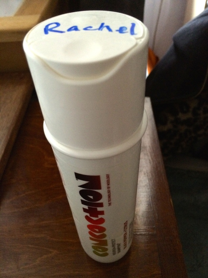Concoction shampoo with home-made personalisation