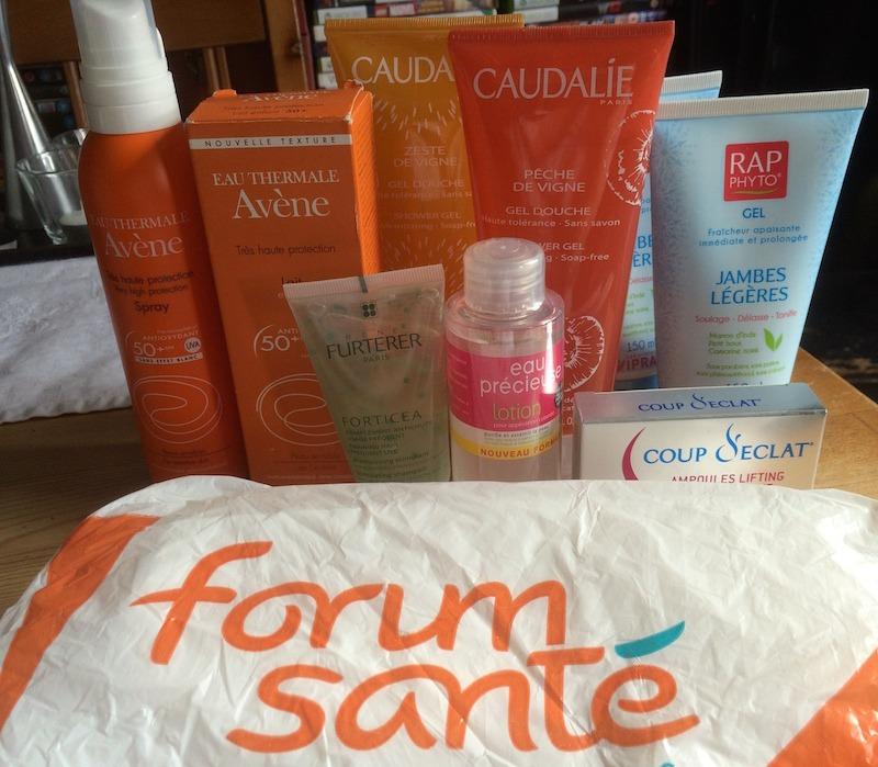 Forum Santé Beauty Purchases