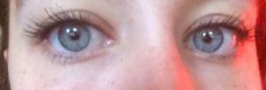 Daniel Sandler Intense Volume Pro Mascara on eyes