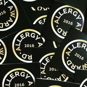 AllergyCertified 2016 invitations
