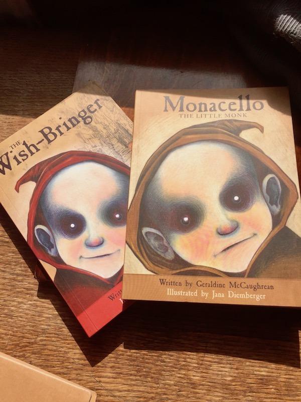 iBeheld's copies of Monacello and The Wish-Bringer