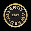 AllergyAward17 logo